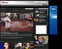 n-tv Mediathek - Screenshot